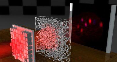 """اكتشاف يجعل الأشياء """"غير مرئية"""" بإنشاء موجات ضوية تخترق المواد غير الشفافة image"""
