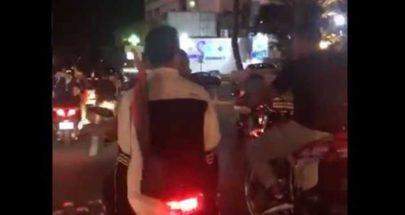 مسيرة مؤيدة لفلسطين تجوب شوارع بيروت image