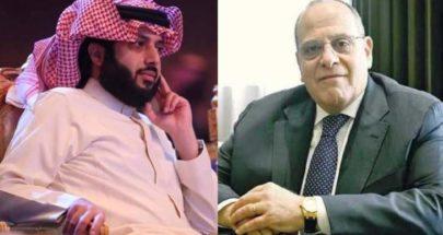 الصباح يعبر لـ تركي آل الشيخ عن تقديره له وللسعودية image
