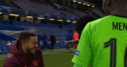 """""""ضحكات"""" هازارد تثير غضب ريال مدريد image"""