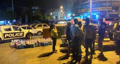 ازالة البسطات والمخالفات في شارع عزمي وساحة جمال عبد الناصر image