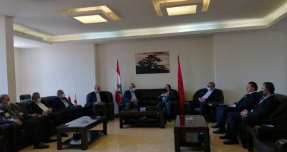 القومي والطاشناق عرضا التحديات التي تواجه لبنان image