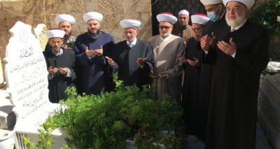 دريان: استذكار مبادىء المفتي الشهيد حافز لإكمال طريق الوحدة image