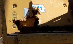 تضرر مشروع الصرف الصحي في الخيام image