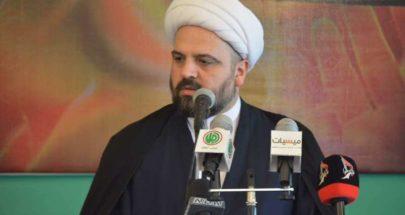 المفتي قبلان: قوة العرب والمسلمين بوحدتهم image