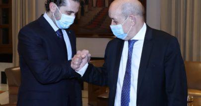 الحريري يلتقي لودريان image