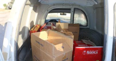 بالصور: إحباط عمليّة تهريب مواد مدعومة الى سوريا image