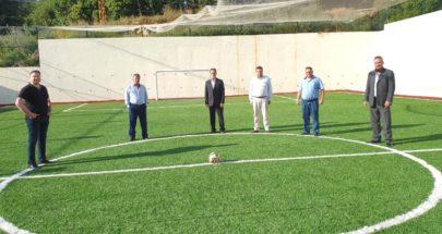بلدية البرج افتتحت الملعب الرياضي image