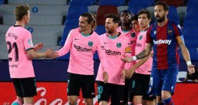 لا أحد يريد الدوري الإسباني.. برشلونة يواصل إهدار النقاط image