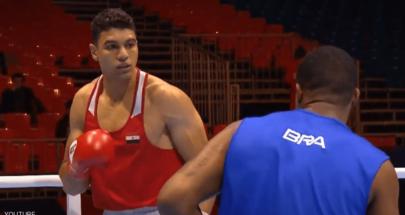 الملاكم المصري يسري رزق يتحدى أبطال العالم في طوكيو image