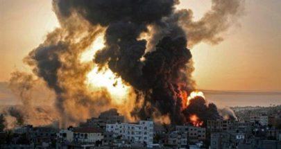 """غارات إسرائيلية عنيفة على غزة.. وسقوط """"البرج السادس"""" image"""