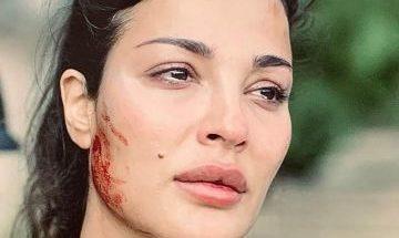 """بالصور: نادين نسيب نجيم تعبر عن حزنها بعد إنتهاء مسلسل """"عشرين عشرين"""" image"""