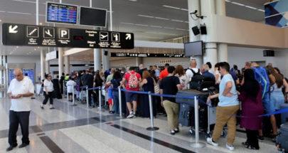 25 حالة إيجابية على متن رحلات إضافية وصلت إلى لبنان image