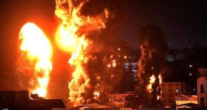 غارات إسرائيلية تستهدف مواقع لحماس في قطاع غزة image
