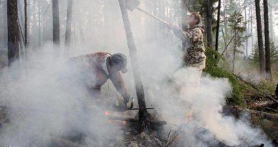 حرائق غابات في سيبيريا تلتهم مئات الكيلومترات image