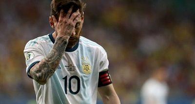 مخاوف ميسي قبل مواجهة الأرجنتين وتشيلي في كوبا أمريكا image