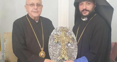 كنيسة الأرمن الأرثوذكس في زحلة والبقاع تهنئ المطران درويش image