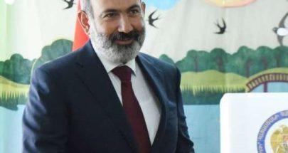 باشينيان يعلن فوزه بالانتخابات التشريعية في أرمينيا image