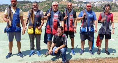 ناصيف سليمان بطل المرحلة الاولى من بطولة لبنان في الرماية image