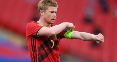 كأس أوروبا.. دي بروين يغيب عن مباراة بلجيكا أمام روسيا image