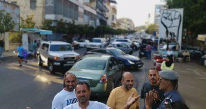 تحركات احتجاجية واقفال طرق في النبطية بسبب الاوضاع المعيشية image