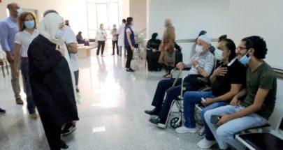 بهية الحريري جالت في مستشفى صيدا الحكومي والمستشفى التركي image
