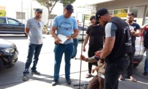 دوريات للأمن العام على محطات المحروقات في قضاء بنت جبيل image