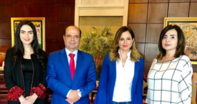 في القاهرة.. عبد الصمد اطلعت على جرائم الاحتلال بحق الصحافيين image