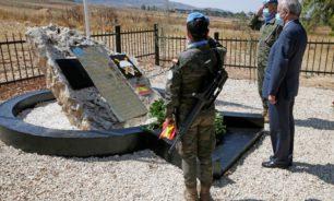 الذكرى الـ14.. الكتيبة الاسبانية أقامت حفلا تكريميا لضباطها الـ6 image
