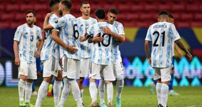 منتخب الأرجنتين ينتصر على باراغواي ويستحوذ على صدارة المجموعة image