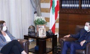 الحريري استقبل السفيرة الأميركية.. وهذا ما تم بحثه image
