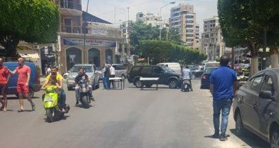 قطع طريق النجاصة في صيدا بسبب تدهور الوضع المعيشي image