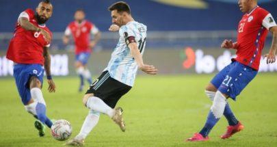 أرجنتين ليونيل ميسي تتعثر بالتعادل أمام تشيلي image
