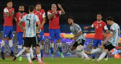 """""""كوبا أميركا"""".. الأرجنتين تسقط في فخّ التعادل أمام تشيلسي! image"""