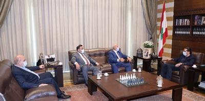 لقاء بين الحريري ورئيس بلدية فنيدق