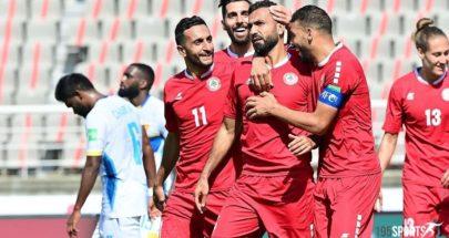 بعثة المنتخب اللبناني تصل إلى الدوحة image