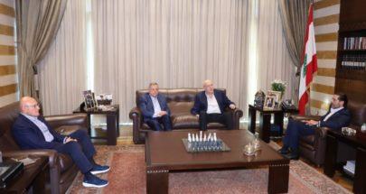الحريري التقى رؤساء الحكومة السابقين image