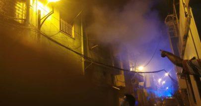 حريق في منطقة الأشرفية image