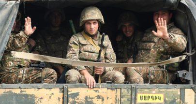 """أذربيجان تفرج عن 15 أرمينيا مقابل """"خريطة"""" image"""