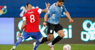 تشيلي تتعادل مع أوروغواي وتحجز مقعداً في ربع النهائي image