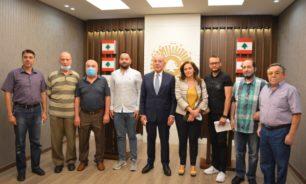 """لإعادة الألق الى لبنان من طرابلس... دبوسي إستقبل """"الإنماء الاقتصادي للتل"""" image"""
