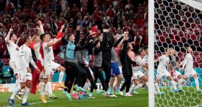 الدنمارك تحقق فوزا مذهلا على روسيا في مباراة مثيرة image