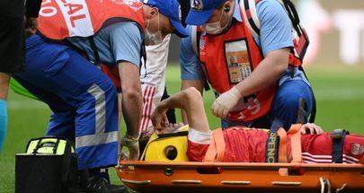 فرنانديز ينجو من إصابة خطرة خلال مباراة روسيا وفنلندا image