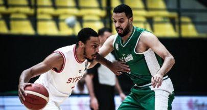 السعودية تثأر من سوريا بكرة السلة image