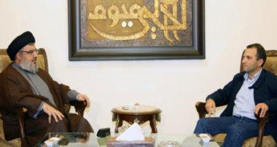 """إجتماع """"حزب الله"""" ـ باسيل: عتب وفشّة خلق والنتائج في غضون أيام image"""