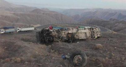 قتلى جراء سقوط حافلة بوادٍ في البيرو image