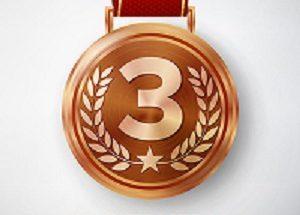 ثلاث ميداليات برونزية للبنان image