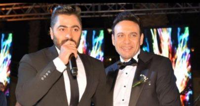 هكذا هنأ تامر حسني مصطفى قمر بزواج إبنه image