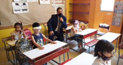 رئيس مصلحة التعليم الخاص جال على عدد من مدارس الهرمل والبقاع image