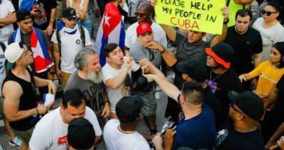 القضاء الكوبي يلاحق 59 شخصا على خلفية تظاهرات 11 يوليو image